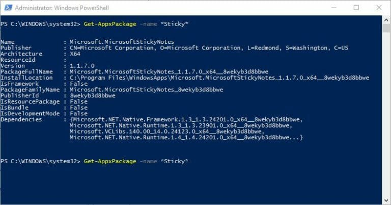 sticky-notes-powershell